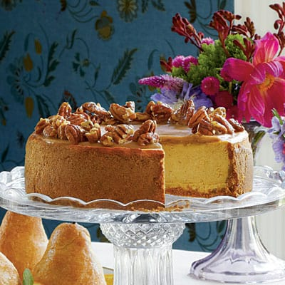 Pumpkin Cheesecake - Best 50 Holiday Sides, Dinners, & Dessert Recipes. The Recipe Critic, Alyssa Rivers.