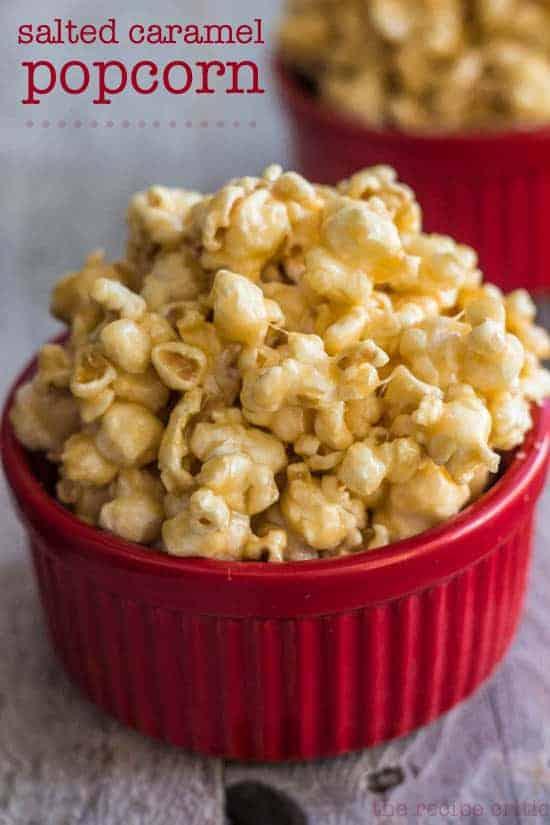 salte caramel popcorn