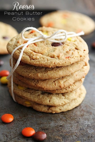 Reeses Peanut Butter Cookies - One of the Best Amazing Cookie Recipes for the Holiday Season. The Recipe Critic, Alyssa Rivers, The Amazing Cookie Exchange. Best Holiday Cookie Recipes!