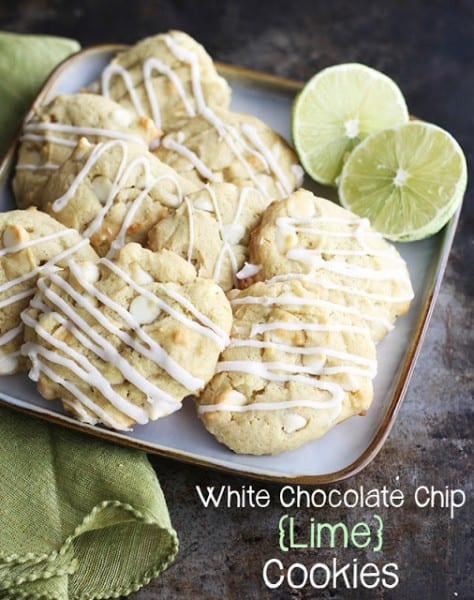 White Chocolate Chip Lime Cookies - One of the Best Amazing Cookie Recipes for the Holiday Season. The Recipe Critic, Alyssa Rivers, The Amazing Cookie Exchange. Best Holiday Cookie Recipes!