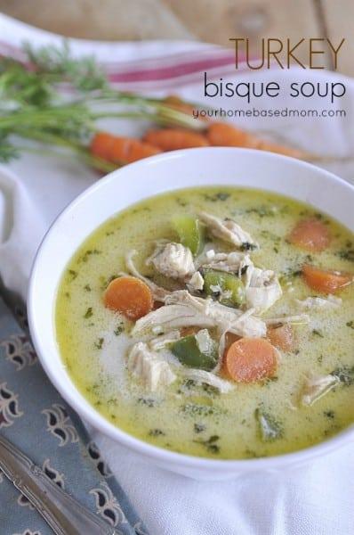 Turkey Bisque Soup