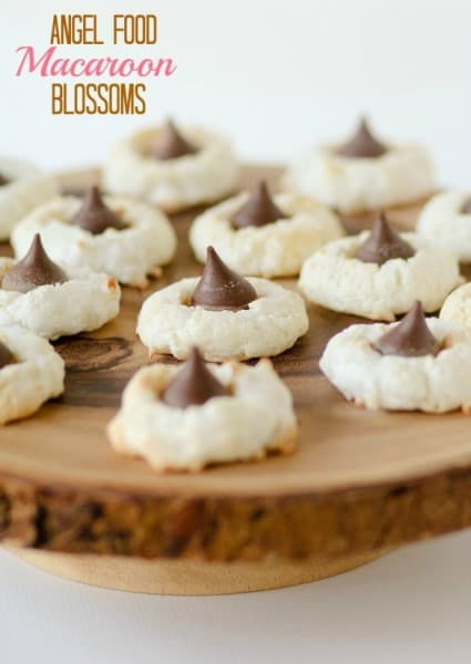 Angel Food Macaroon Blossoms - One of the Best Amazing Cookie Recipes for the Holiday Season. The Recipe Critic, Alyssa Rivers, The Amazing Cookie Exchange. Best Holiday Cookie Recipes!