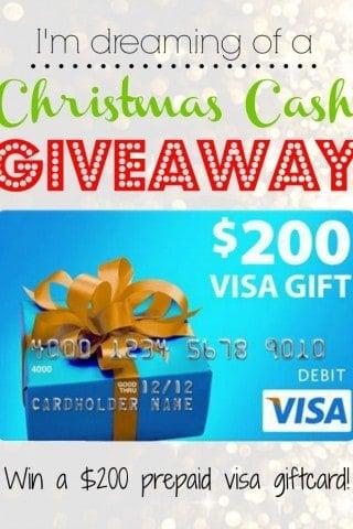 Christmas Cash Giveaway!