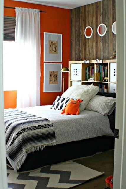 Boy's Bedroom Makeover