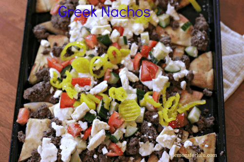 Greek Nachos - One of the Best Football Party Snacks and Recipes for the New Season. The Recipe Critic, Alyssa Rivers. Best Game Day Football Snacks, Appetizers & Sweet Treat Recipes!