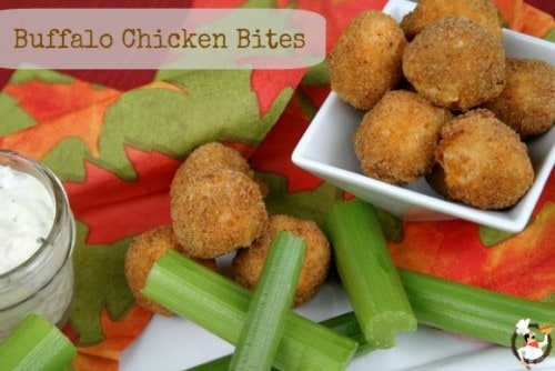 Buffalo Chicken Bites - One of the Best Football Party Snacks and Recipes for the New Season. The Recipe Critic, Alyssa Rivers. Best Game Day Football Snacks, Appetizers & Sweet Treat Recipes!