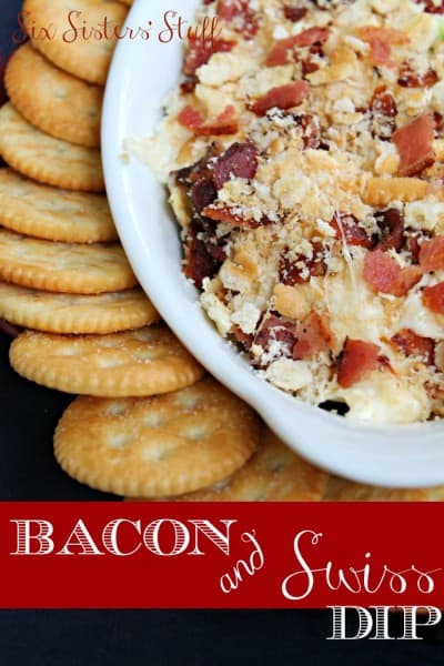 Bacon and Swiss Dip - One of the Best Football Party Snacks and Recipes for the New Season. The Recipe Critic, Alyssa Rivers. Best Game Day Football Snacks, Appetizers & Sweet Treat Recipes!