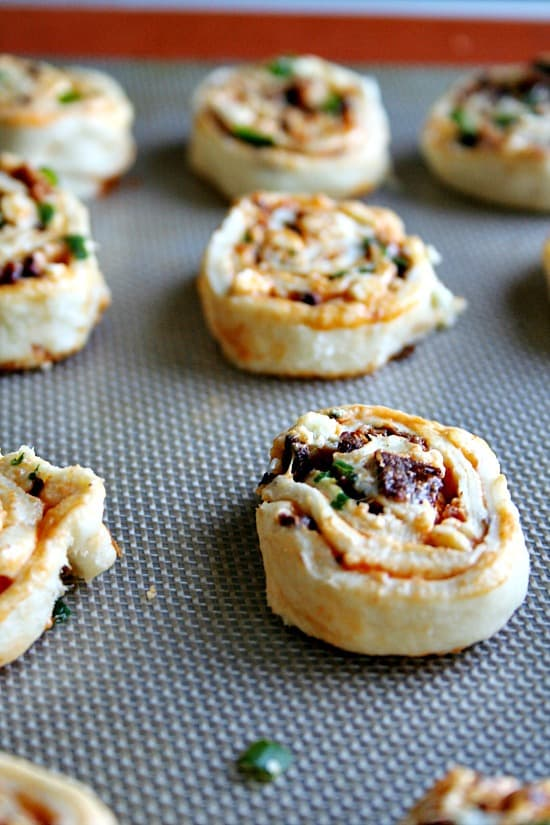 Buffalo Bacon Pinwheels
