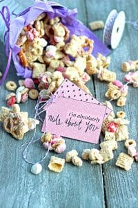 White Chocolate Valentine's Mix