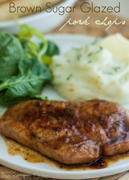Brown Sugar Glazed Pork Chops - One of the Best 30 Minute Meals and Recipes. The Recipe Critic, Alyssa Rivers. Keep Your Meals Simple!