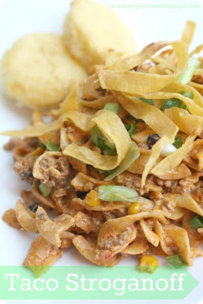 Taco Stroganoff - One of the Best 30 Minute Meals and Recipes. The Recipe Critic, Alyssa Rivers. Keep Your Meals Simple!