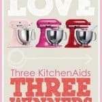 Baked With Love Kitchenaid Giveaway