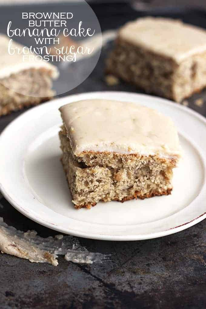 Brown Butter Frosting For Banana Cake