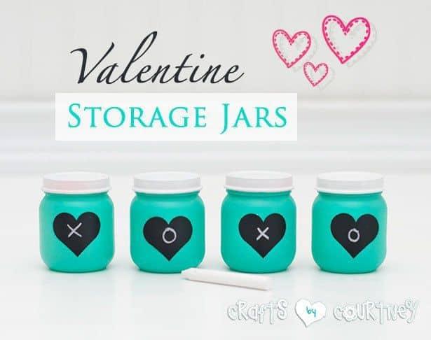 valentine storage jars