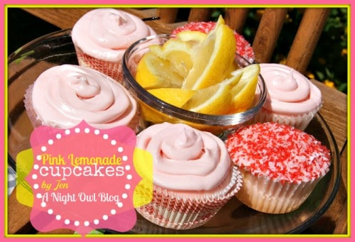 Pink Lemonade Cupcakes - One of the Best Lemon Recipes. The Recipe Critic, Alyssa Rivers.