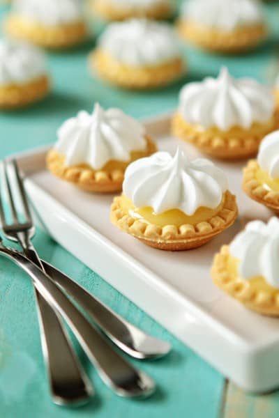 Mini Lemon Pies - One of the Best Lemon Recipes. The Recipe Critic, Alyssa Rivers.