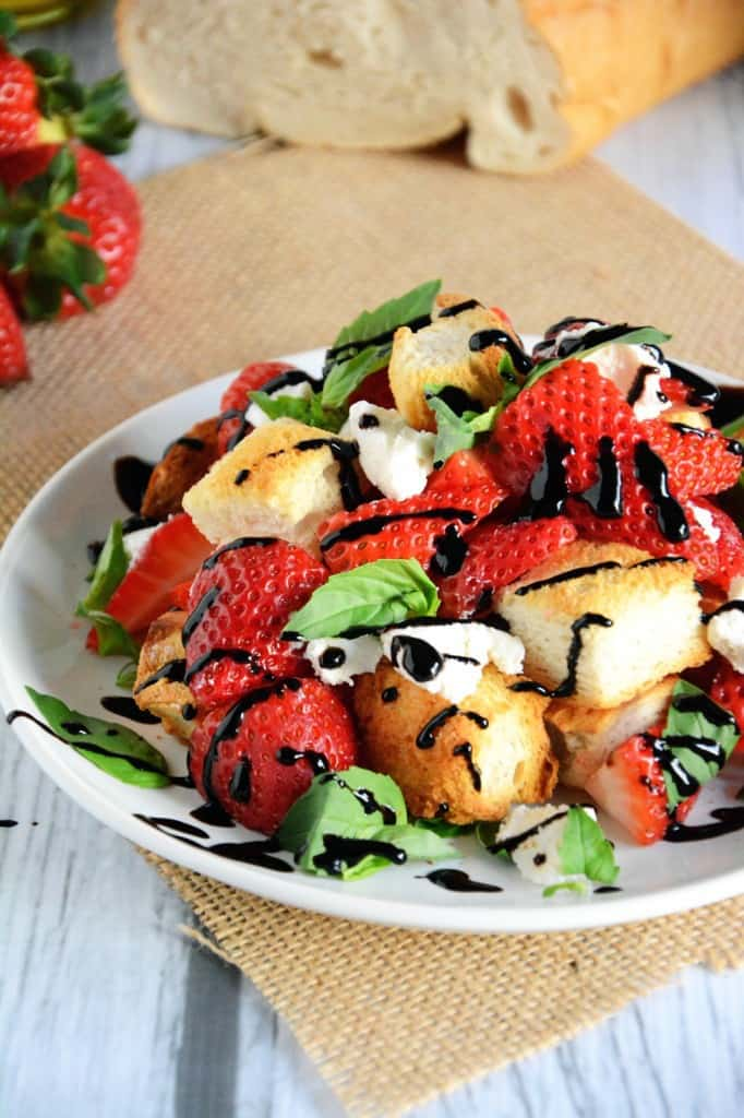 Honey and Strawberry Salad