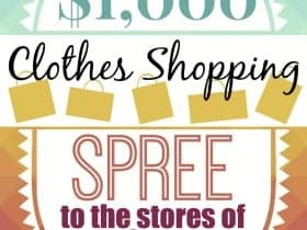 Shopping Giveaway Header