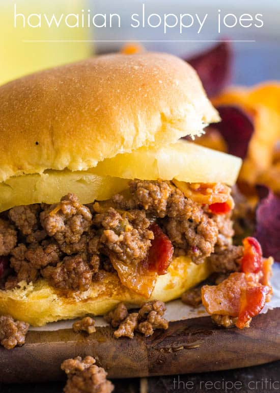 Hawaiian Sloppy Joes