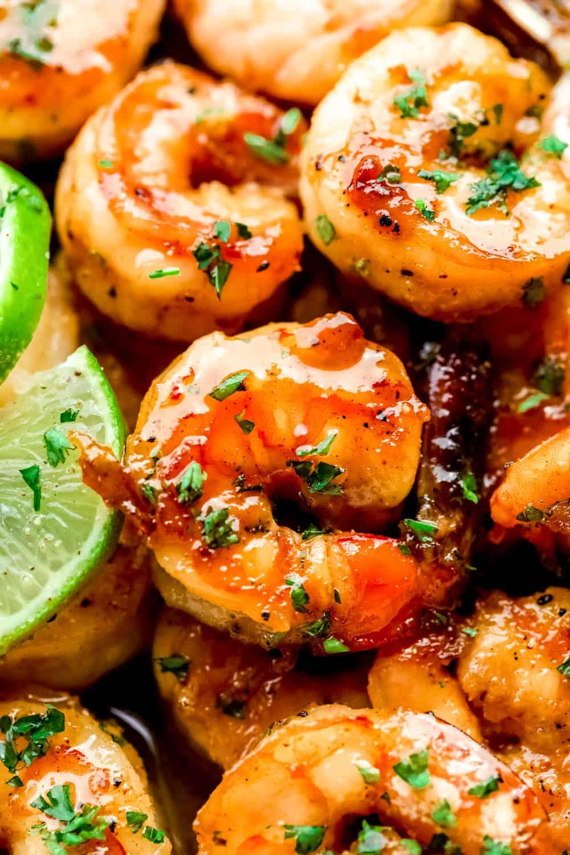 honey lime shrimp