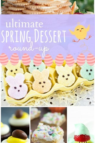 Round-up of 50+ Spring and Easter Desserts