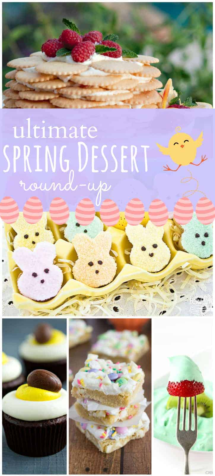 Round Up Of 50 Spring And Easter Desserts The Recipe Critic