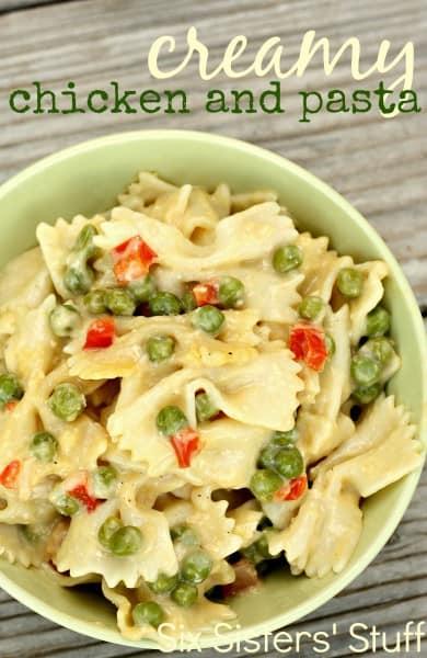 Creamy Chicken and Pasta - One of the Best Easy Pasta Recipes. The Recipe Critic, Alyssa Rivers.