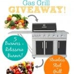 Outdoor Gas Grill Giveaway