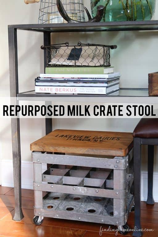 milk-crate-stool
