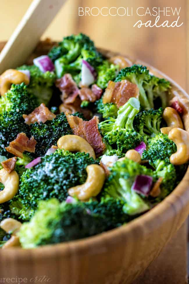 Whole Foods Broccoli Cashew Salad
