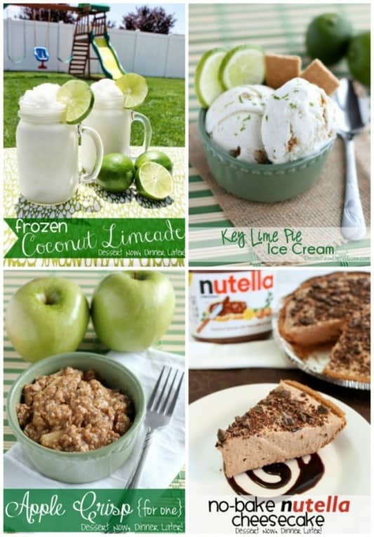 Summer Dessert Ideas from DessertNowDinnerLater.com