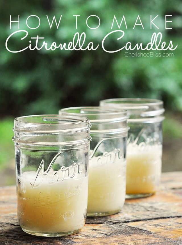 Citronella Candles