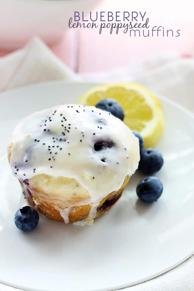 Blueberry Lemon Poppyseed Muffins | The Recipe Critic