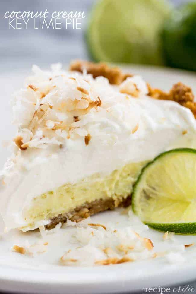nothing says summer like a key lime pie and key lime pies are one of ...