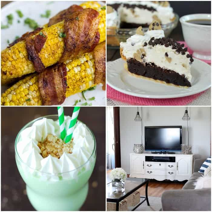 Projects and Recipes from the Time to Sparkle Link Party Hostesses