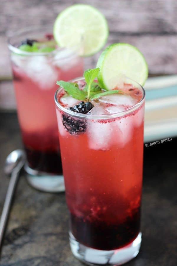 Blackberry Lime Mojito