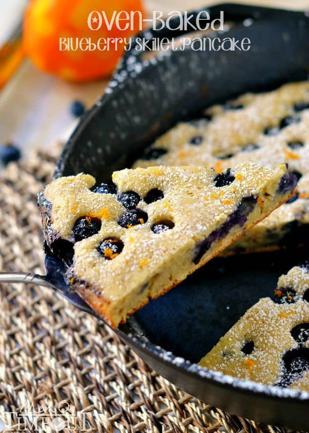 Blueberry Skillet Pancake