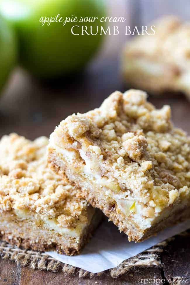 applepiesourcreamcrumbbars