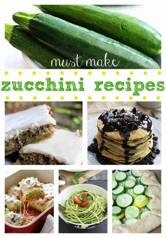 Must Make Zucchini Recipe Roundup