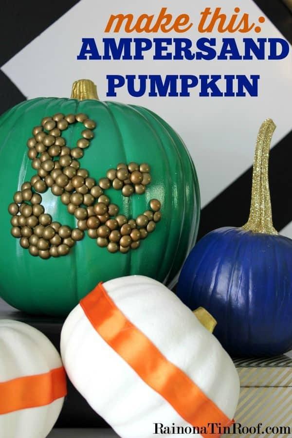 Ampersand Pumpkin