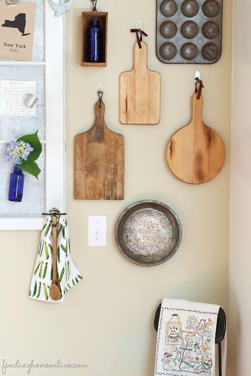 Cutting Board Gallery Wall