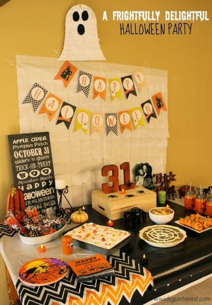 A frightfully delightful halloween party