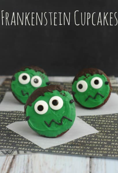 Frankenstein-Cupcakes