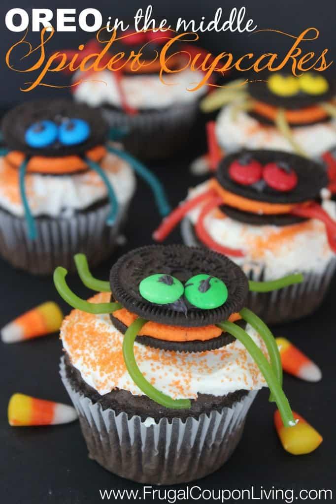 halloween-oreo-spider-cupcakes-frugal-coupon-living-682x1024