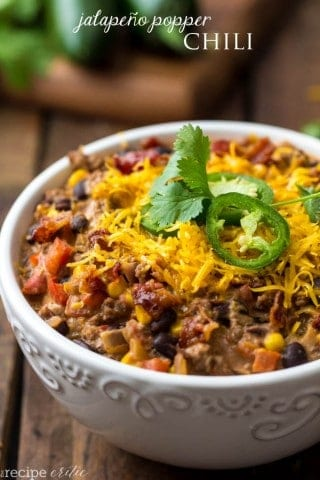 Jalapeno Popper Chili