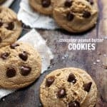 Easy Peanut Butter and Chocolate Cookies