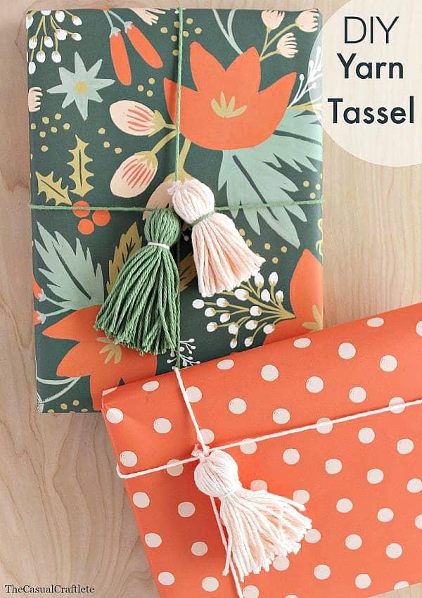 DIY Yarn Tassel