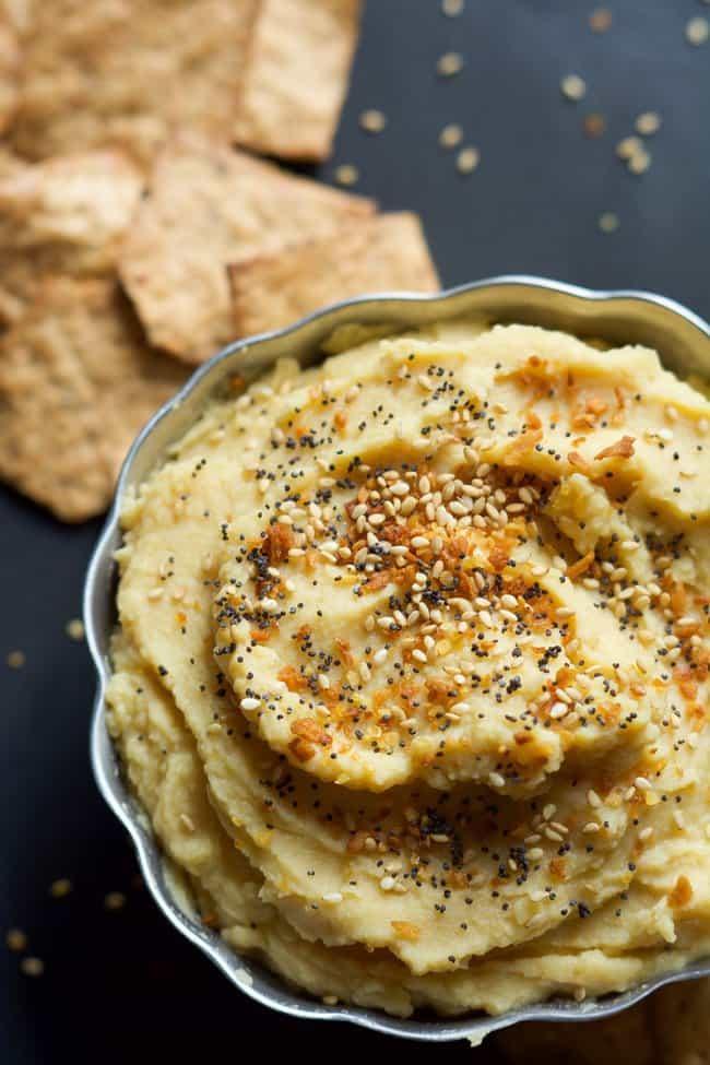 Everything Bagel Hummus