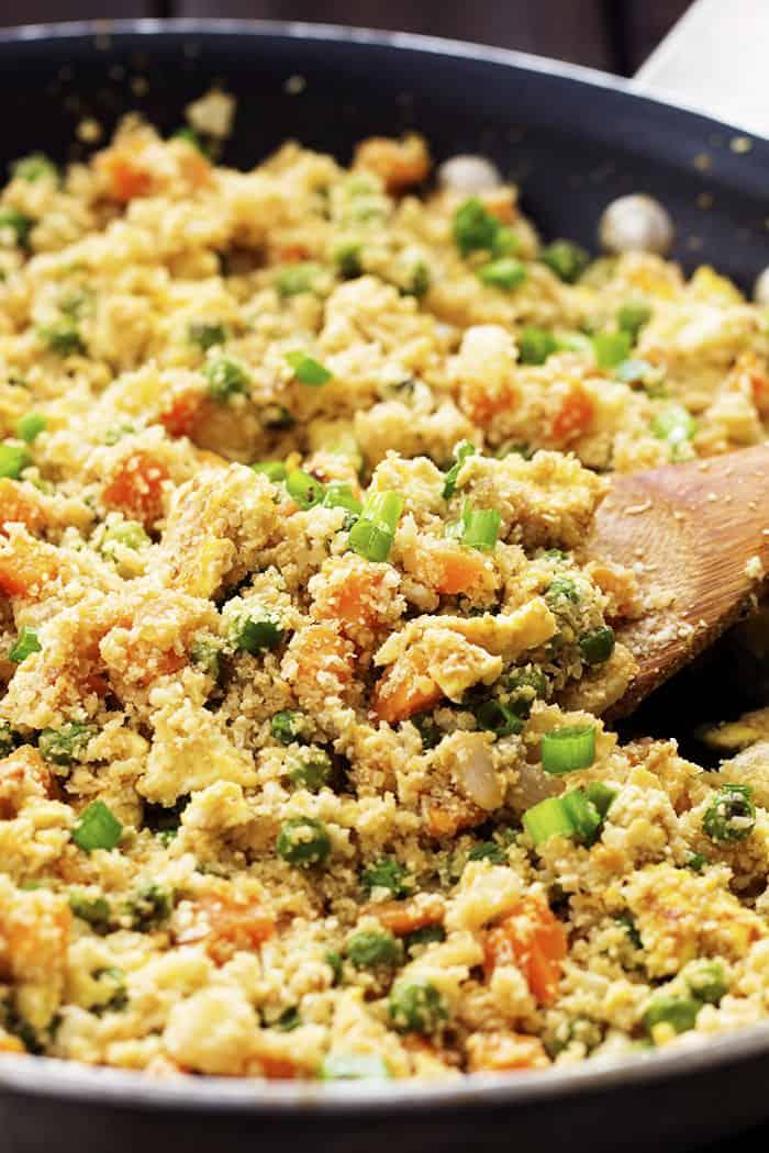 Cauliflower Fried Rice | The Recipe Critic