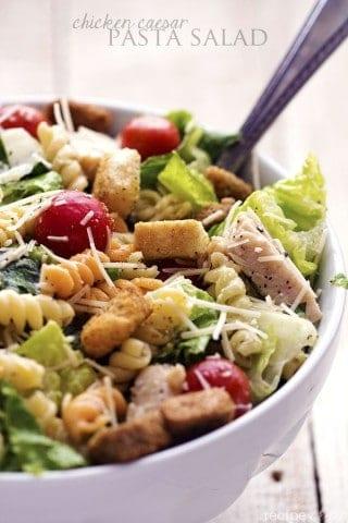 Chicken Caesar Pasta Salad {plus a HUGE giveaway!}